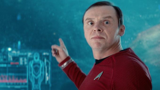 Simon Pegg in Star Trek