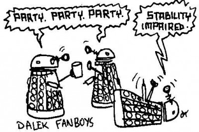 Dalek fanboys