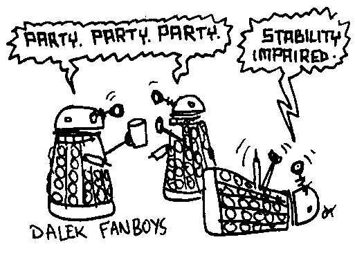 Dalek fanboys