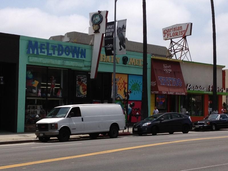 Meltdown Comics Los Angeles
