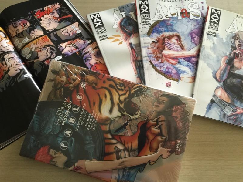 2016-01-15 Impact Comics purchases