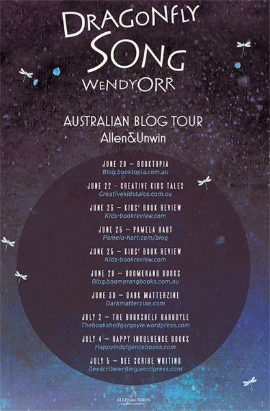 Follow Friday Dragonfly Song blog tour