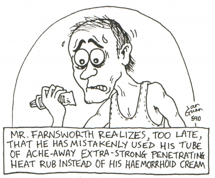 Farnsworth — a silly illo by Ian Gunn