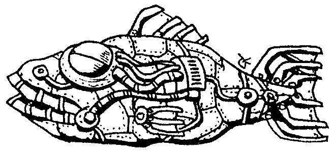 Fish ship — a silly illo by Ian Gunn