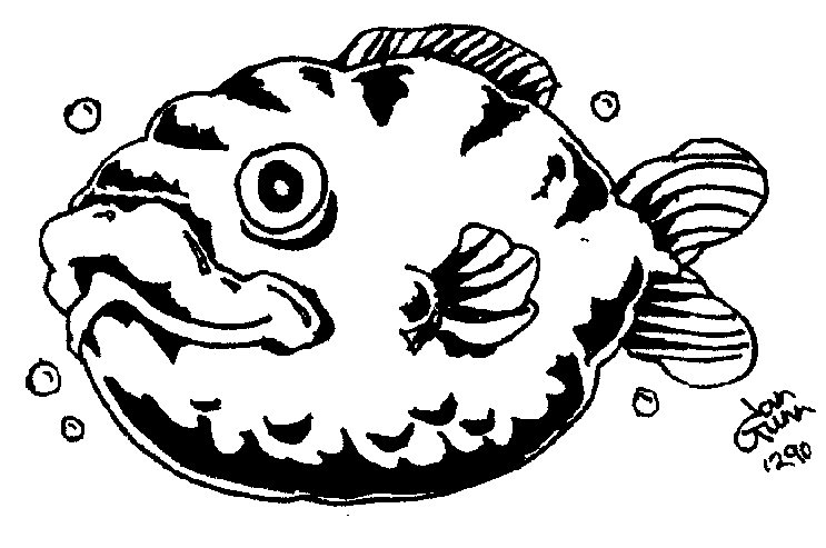 Fish — a silly illo by Ian Gunn