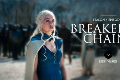GoT Breaker of Chains: Daenerys looks up at the city