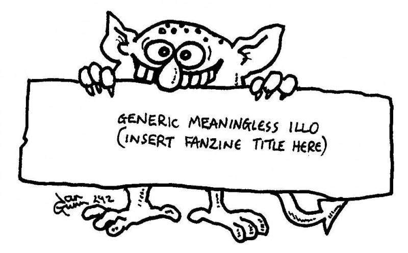 Generic illo — a silly illo by Ian Gunn