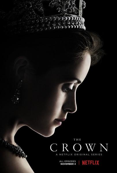 The Crown — Elizabeth wearing the royal crown