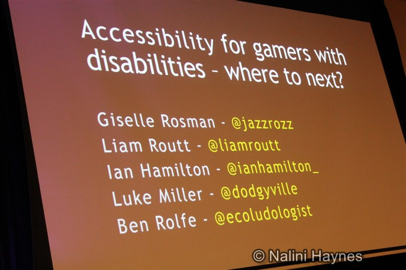 Accessibility for gamers with disabilities