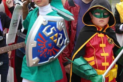 Link, Robin and Star Lord were cosplay winners