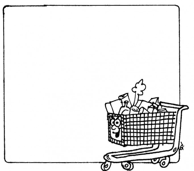Goodtrolley — a silly illo by Ian Gunn
