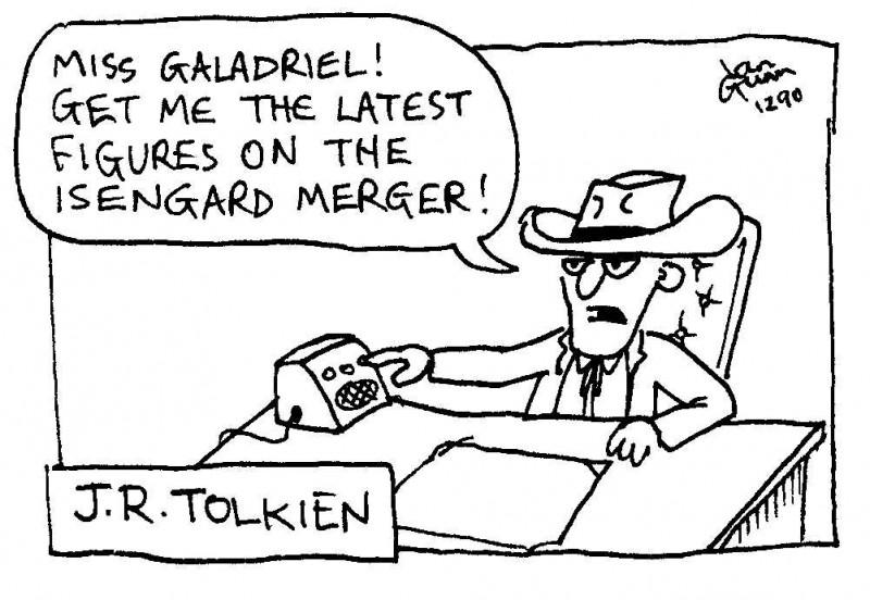 J R Tolkien