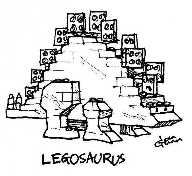 Legosaurus