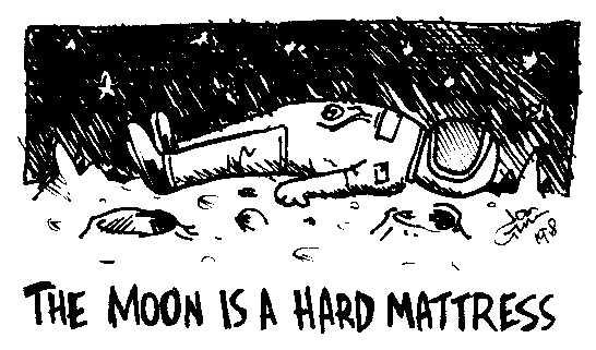 Moon is a hard mattress