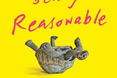stop being reasonable: a tortoise lies on its back waving its legs in the air