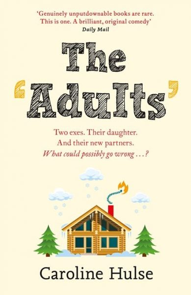 The adults: a house with a chimney; a lit fuse is attached to the chimney