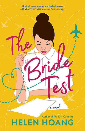 The Bride Test: a Viet Namese woman looks down at paper as if she's taking a test