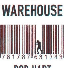 The Warehouse : a barcode is interrupted by a figure inside it disrupting it