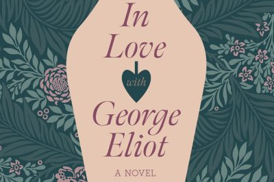 Kathy O'Shaughnessy is in love with George Eliot: a fountain pen nib dominates a floral wallpaper background
