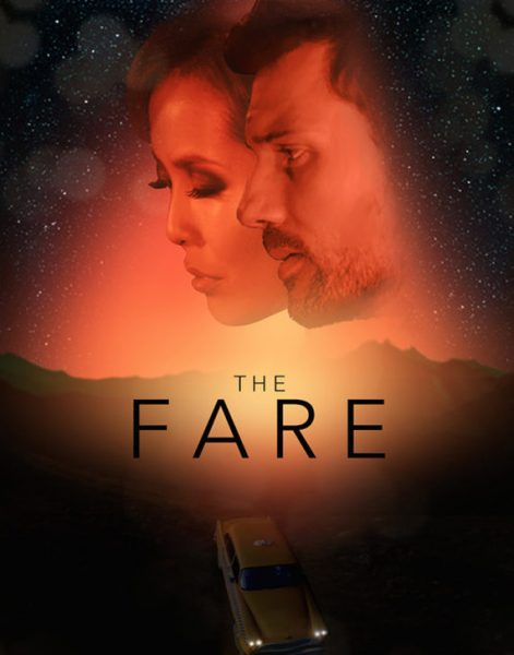 The Fare: Penny and Harris's faces float above the title