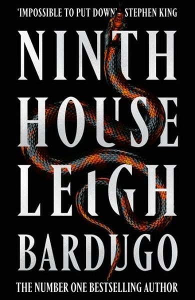 Ninth House - snakes entwined with the title and author's name
