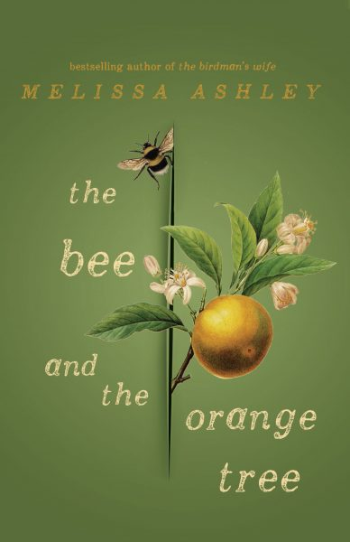 The bee and the orange tree : the cover depicts a bee and a branch of an orange tree