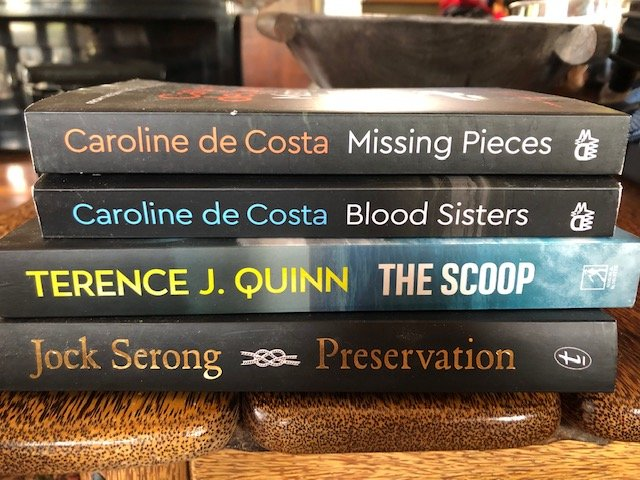 Cass Moriarty's crime stack