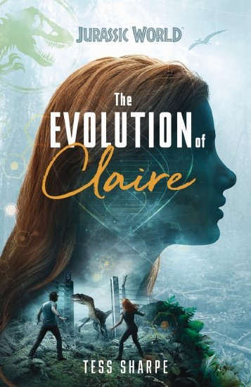 Evolution of Claire - a blue girl with read hair looks over the sea