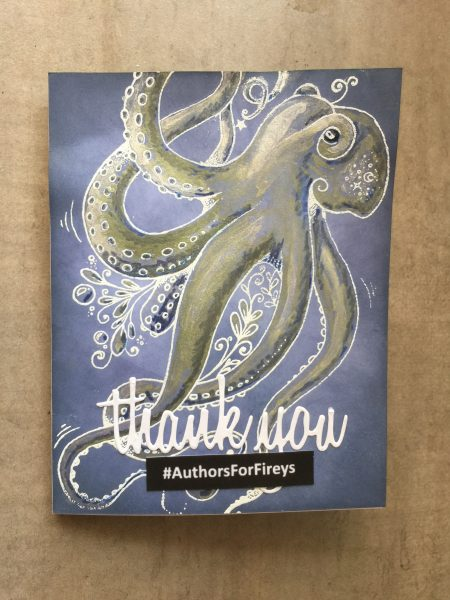 A monster of a job earns a monster thank you to Cass Moriarty: an octopus