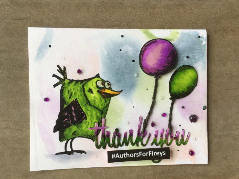 Carly Findlay thank you card