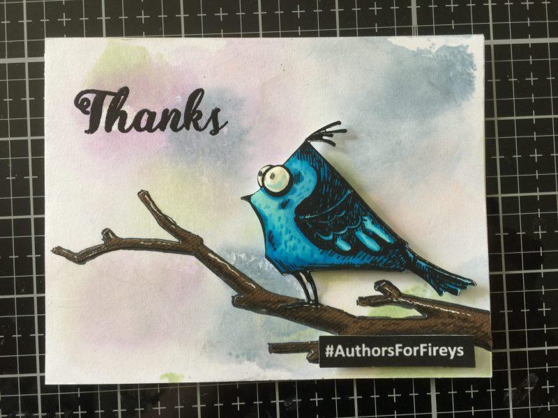 blue sparrow for Zana Fraillon