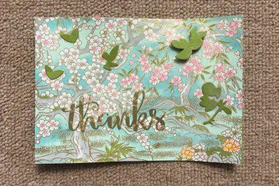 Thank you Jessica White (card)