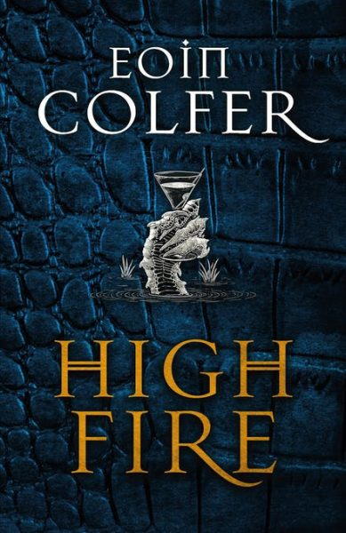 High Fire - a dragon's claw holds a martini glass aloft