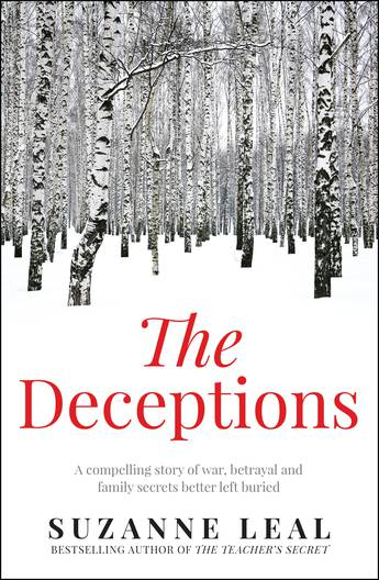 The Deceptions: a stark treeless forest in a snowscape