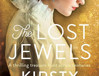 the lost jewels: a woman wearing period costume is in profile