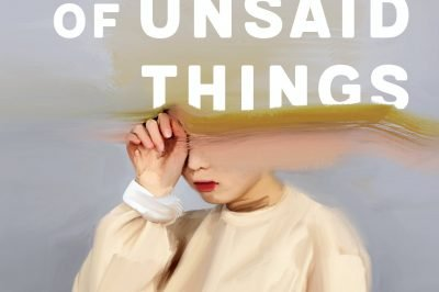 the Loudness of Unsaid Things: a girl cries