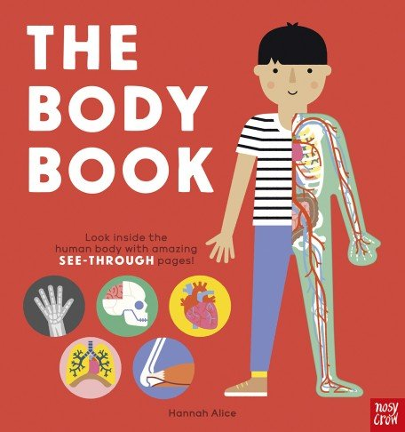 The Body Book: a child is half-dressed, half-diagram of the human body