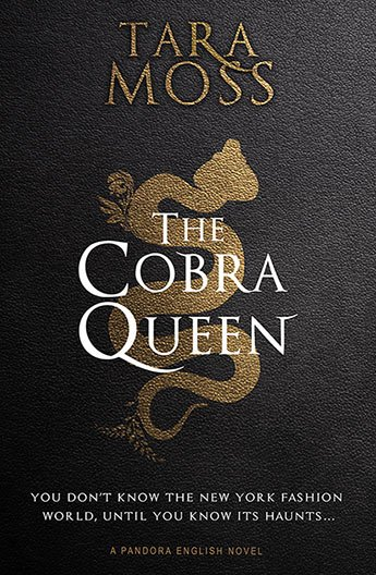 The Cobra Queen: a snake slithers behind the title