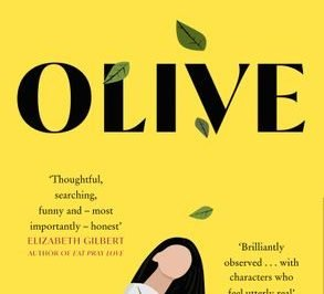 Olive: a woman looks up at the title