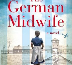 the German Midwife: a woman in a nursing uniform faces a concentration camp