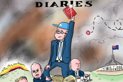 Tosh Greenslade and Andrew Weldon on The Scomo Diaries