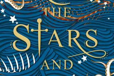 All the stars and teeth: stars, teeth, tentacles and bones float in a sea around the title