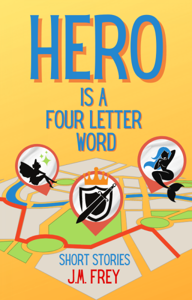 Hero is a four letter word: a map of a city has icons depicting supers