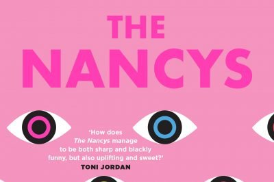 The Nancys: rows of symbolised eyes surround the title