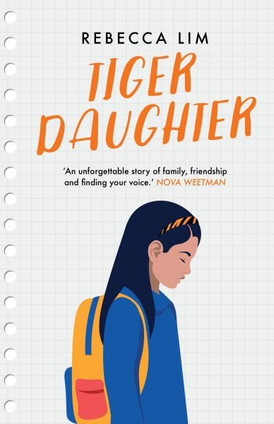 Tiger Daughter: a Chinese Australian schoolgirl wearing a backpack looks down