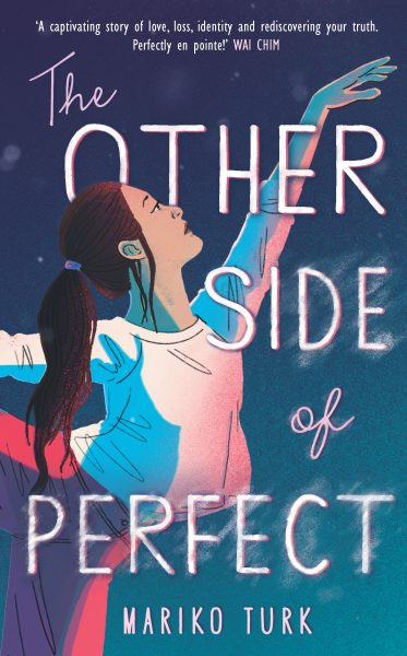 The other side of perfect: a ballerina poses on the cover