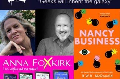 Rob McDonald and Anna Foxkirk on romance, murder and mayhem