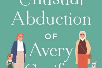 The Unusual Abduction of Avery Conifer: 2 grandmas, a little girl and a dog surround the title